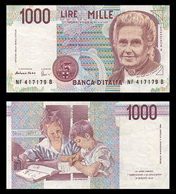 Lire_1000_(Maria_Montessori)