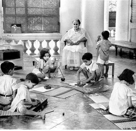 """Képtalálat a következőre: """"Maria Montessori india"""""""